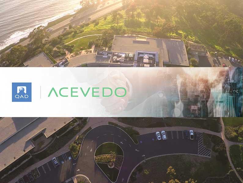 QAD se asocia con Acevedo en España